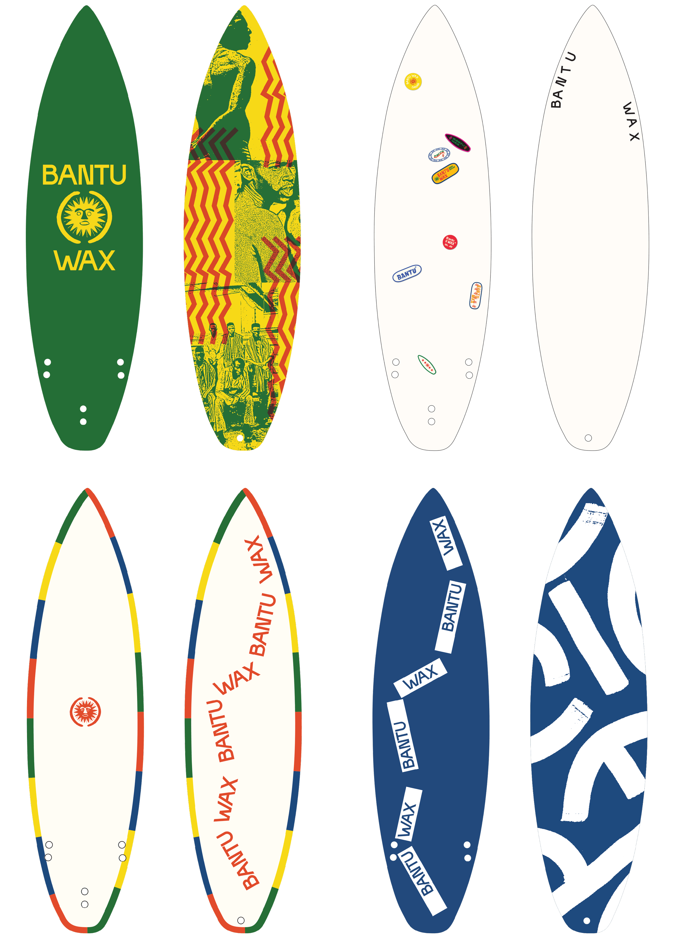 Bantu Wax surfboards